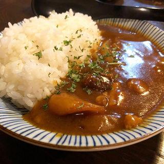 牛すじミニカレー(清水家 錦 烏丸錦店 )