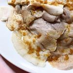 豚肉のニンニクソース(歓迎 本店)