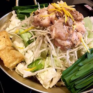 炙りもつ鍋(旬味旬菜 大和)