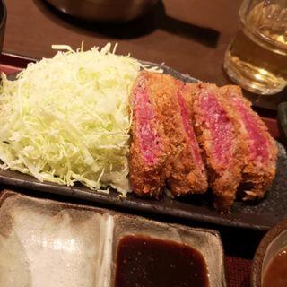 牛ロースカツ膳(太樹苑 西新宿店 (タイジュエン))