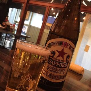 瓶ビール(もつ焼き いなり)