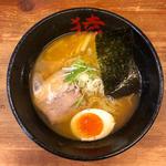 桃猿醤油(桜えび)らーめん + バタートッピング