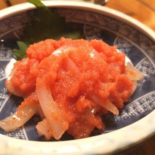 剣イカの明太子和え(酒菜 和寿 )