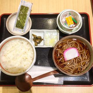 朝蕎麦セット