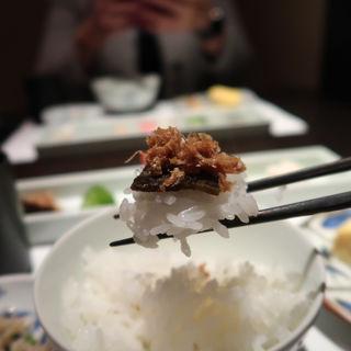 コースの土鍋ご飯(ぎんざ 一二岐 (ぎんざ いぶき))
