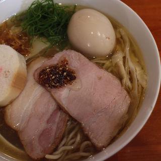 白醤油そば(らぁめん ZUPPA)