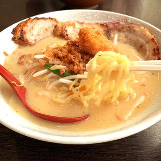 広島味噌炙りチャーシュー麺(麺場 田所商店 本店)