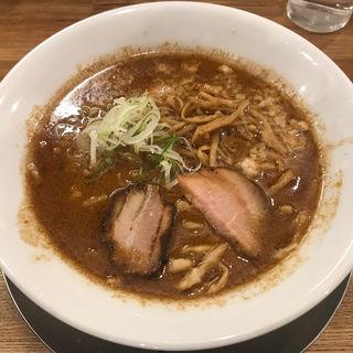 江戸甘味噌らーめん(麺や七彩)