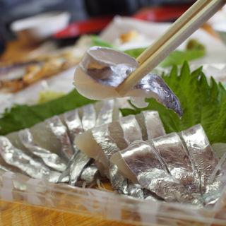太刀魚刺身(もとや )