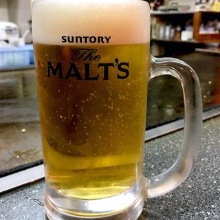 生ビール(博多お好み焼き 一番星 若宮店)