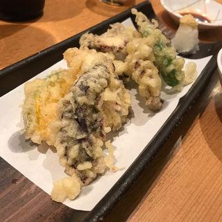 たこの天ぷら(市場ずし 心斎橋筋店 (いちばずし))