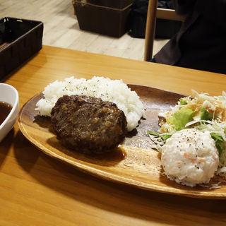和風ハンバーグプレートランチ(はかた珈琲 )