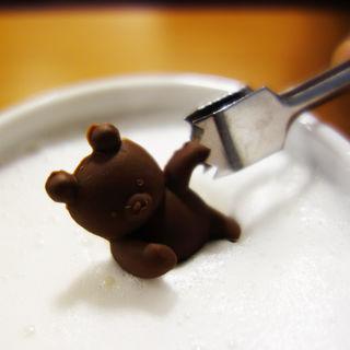 くまチョコミルク(はかた珈琲 )