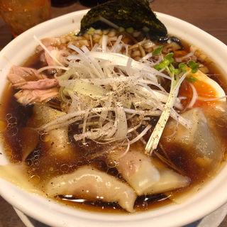 1日10食限定ワンタン麺(ヌードルカフェサムライ)