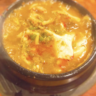 海鮮ミックススンドゥブ(チャメ 恵比寿店)