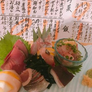 お造り盛り合わせ(魚真恵比寿店)