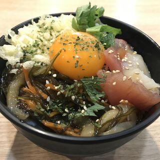 源ちゃんのまかない丼(築地食堂源ちゃん 神田店 )