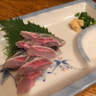 いわし刺身(一ふくいわし料理)
