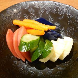 お漬物盛り合わせ(AJITO 鹿島田店 (アジト))