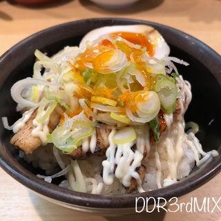 チャーシューライス ミニ(博多拉担麺まるたん 池袋店)