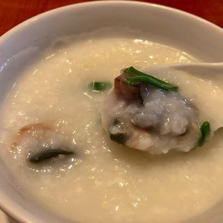 ピータンと豚肉の粥(糖朝 名古屋タカシマヤ店 (トウチョウ))