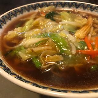 手打サンマー麺(集来 (しゅうらい))