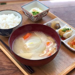 食べるみそ汁定食(ゆめママキッチン)