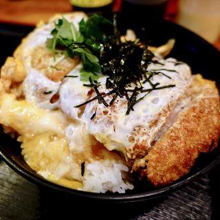 上 たまごとじかつ丼(とんかつ120g)(明治亭 )