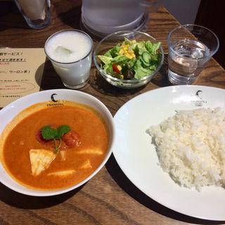 カマンベールチーズとじゃがいもとトマトのカリー(チャントーヤ ココナッツカリー (CHANTOYA COCONUT CURRY))