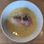 白トリュフオイル香る鶏白湯麺(らーめん MAIKAGURA)