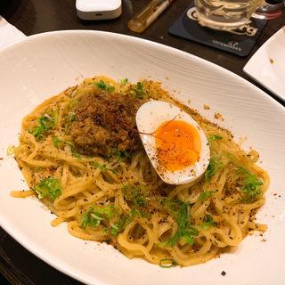 汁なし坦々麺(麺やBar 円〜MARU〜)