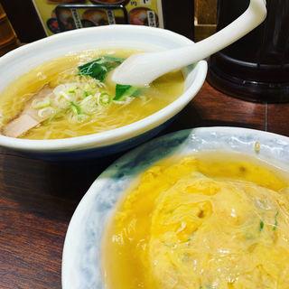 天津炒飯セット(塩)(らーめん つけ麺 かんじん堂 フコクフォレストスクエア店 )