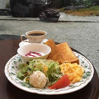 モーニングB(ワールドコーヒー 京都商工会議所店 (WORLD COFFEE))