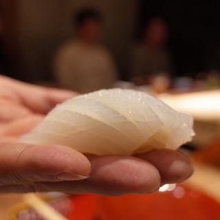 白イカ(初音鮨 (はつねすし))