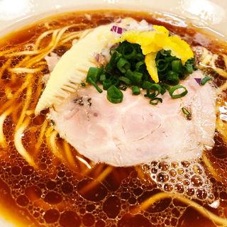 鴨出し醤油ラーメン(麺屋福丸)