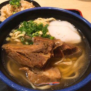 ソーキそば(おきなわ亭)