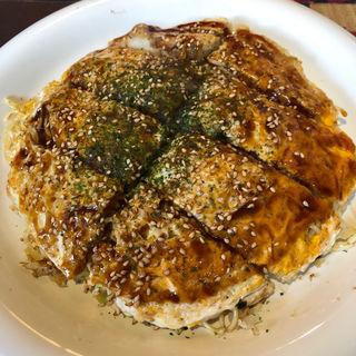 お好み焼き(肉玉そば 生麺 極細)