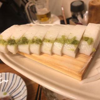 板わさ(焼鳥 十蔵 香椎店)