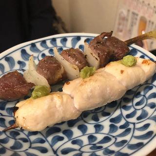 ささみわさび&砂ずり(焼鳥 十蔵 香椎店)
