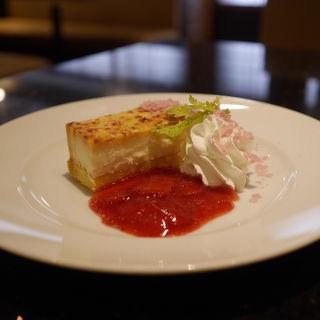 チーズケーキ(にぎり長次郎 門真店 )