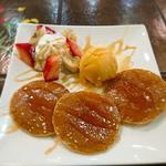 ハワイアンパンケーキ(LAULEA AINA アロハ亭)