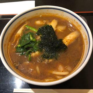 牡蠣味噌うどん(竹や)