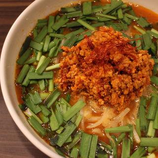 台湾ラーメン+ニラTP(麺や玄鳥)