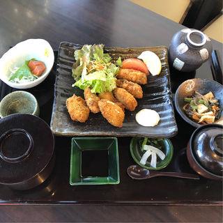 広島産 宮島牡蠣のカキフライ御膳