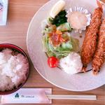 海老フライ定食(グリーンホテル三ヶ根 )