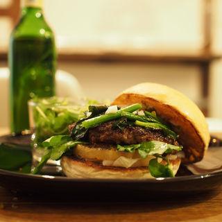 パイナップルバーガー(milia burger)