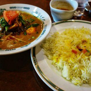 ニハリセット(ハリマ ケバブ ビリヤニ (Halima kebab biryani))