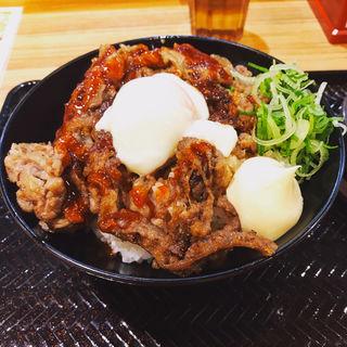 温玉カルビ丼(韓丼 亀有店)