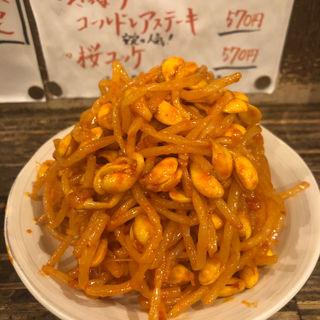 豆もやし(ピリ辛・塩味)(もつしげ 野毛小路 )