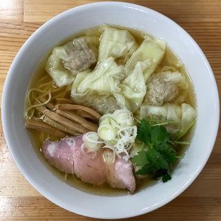 塩ワンタン麺(中華そば こてつ)